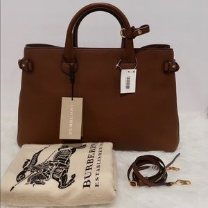 AUTHENTIC Burberry Derby 'Large' Banner Tote